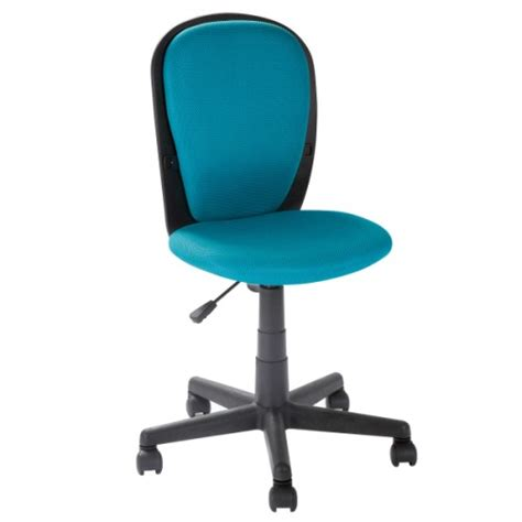 chaise bureau turquoise chaise de bureau ergonomique aqua educabul création oxybul
