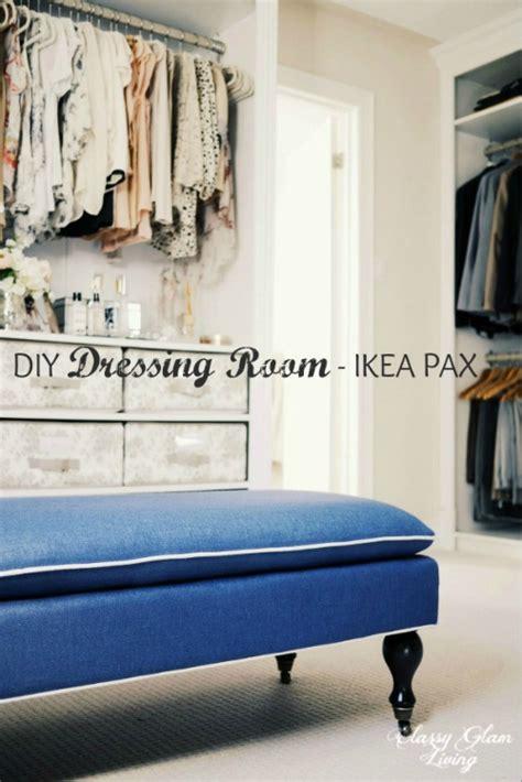 diy dressing room hacked ikea pax wardrobe classy