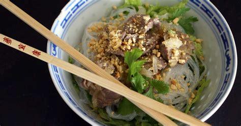 cuisine vietnamienne bo bun recette de bo bun de la cuisine vietnamienne