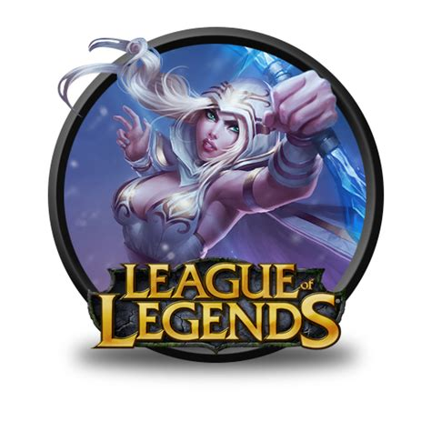 Ashe Freljord Icon League Of Legends Iconset Fazie69