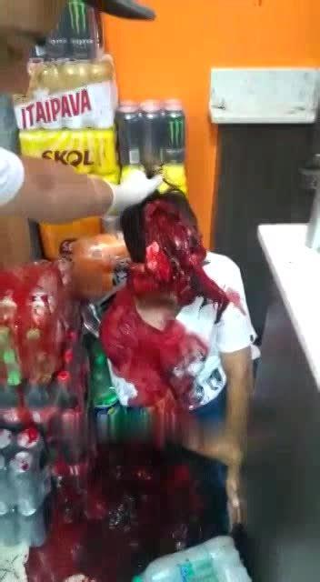 man badly dying  supermarket livegorecom