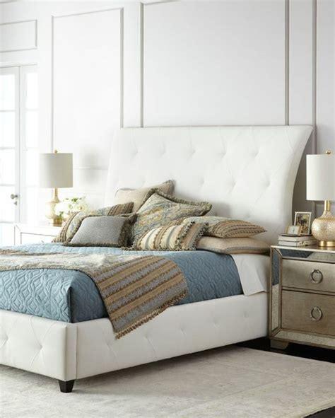 chambres a coucher roche bobois choisissez un lit en cuir pour bien meubler la chambre à