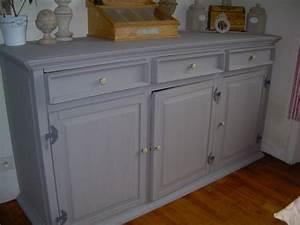 Meuble Shabby Chic : mon meuble refait shabby chic cr ation passag re ~ Teatrodelosmanantiales.com Idées de Décoration
