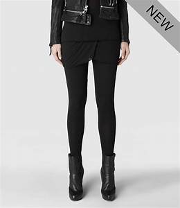 Lyst - Allsaints Kildea Leggings in Black