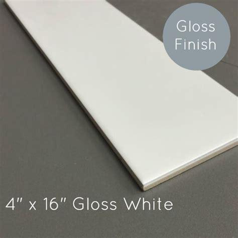 clearance metro subway tile white    gloss