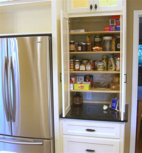 Akadahome Kitchen Pantry Cabinet by Pantry Next To Counter Depth Fridge Zessn Kitchens