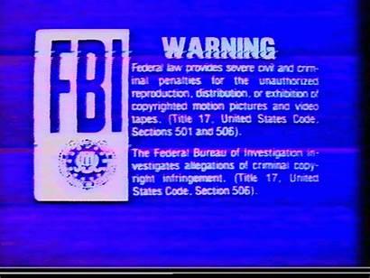 Warning Fbi Vhs Animated Signs Gifs Retro
