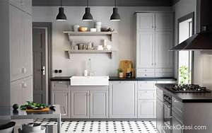Cuisines Ikea 2018 : ikea mutfak modelleri yemek odas ~ Nature-et-papiers.com Idées de Décoration