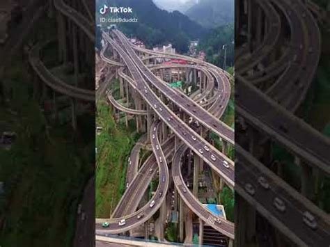 Qianchun Interchange by Qianchun Interchange One Of China S Most Complex