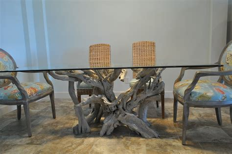 Lakewood Ranch driftwood dining table   Driftwood Decor