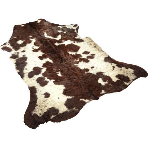 tapis en peau de vache pas cher tapis peau de vache l 130 x l 100 cm leroy merlin