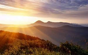 Sunlight Over Mountains wallpapers | Sunlight Over ...