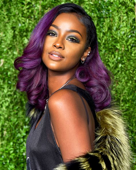 Justine Skye Is Dark And Lovelys New Hair Color Ambassador