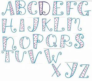 8 Best Images of Printable Letters In Different Fonts ...