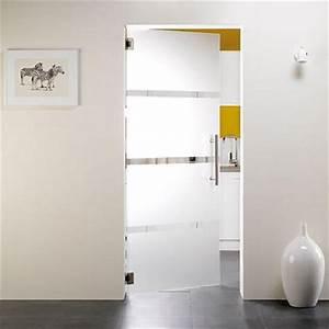 porte en verre securit thys 39thytan t2439 73 cm brico With porte d entrée en verre securit