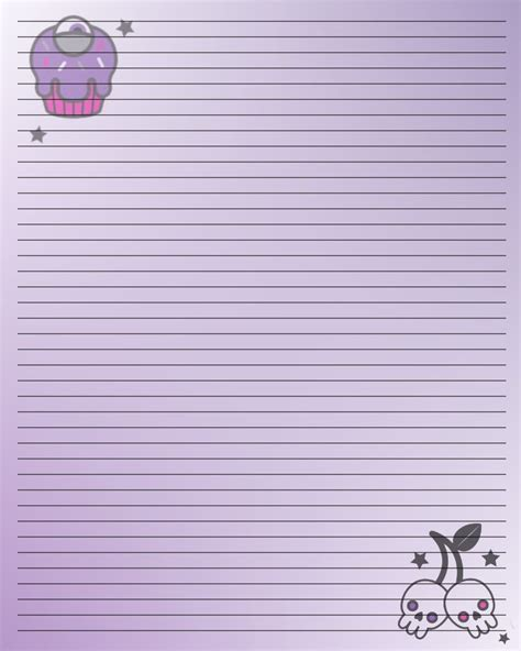 Printable Journal Writing Paper  Downloads Printables
