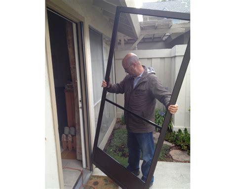 install sliding screen door screen door installation company san jose area 408 866