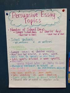6th Grade Persuasive Essay Outline