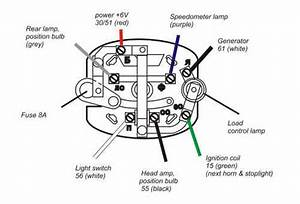 How To Wire Up A 6 Volt Headlight Key Ingnition Into A 12