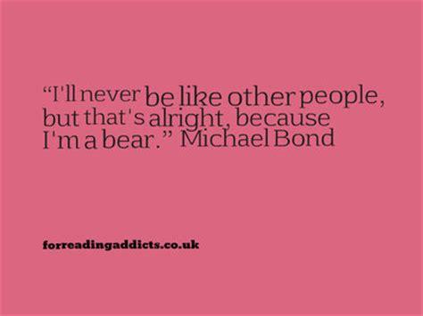 michael bond quotes  deepest darkest peru