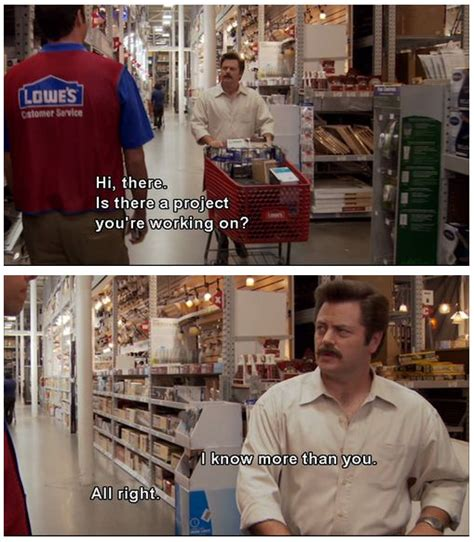 ron swanson stuff images  pinterest parks