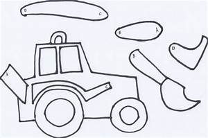 make a movable tractor free printable wildflower With tractor template to print