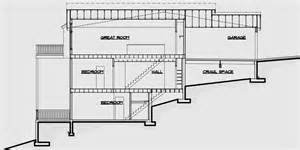 small house plans for narrow lots multi family sloping lot plans hillside plans daylight