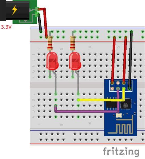 esp8266 web server without arduino hackster io