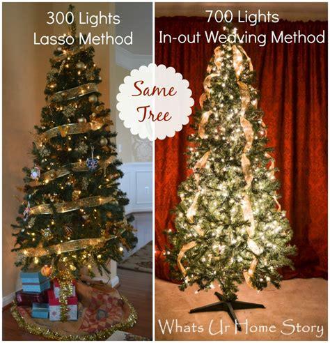 hang christmas lights  tree