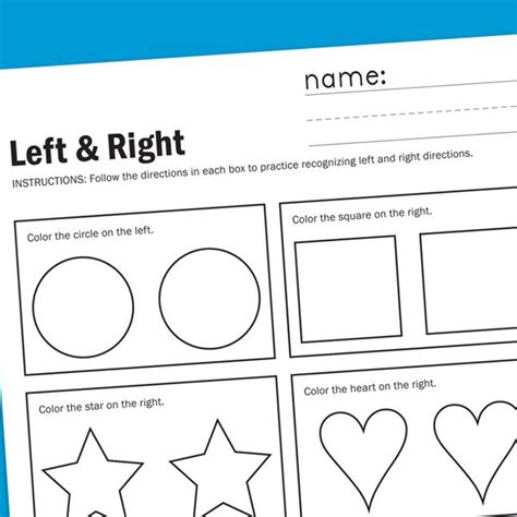 kindergarten math worksheets left and right kindergarten math worksheets left and right