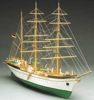 mantua models gorch fock german sail training ship