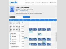 The Doodle Web Scheduler Doodle