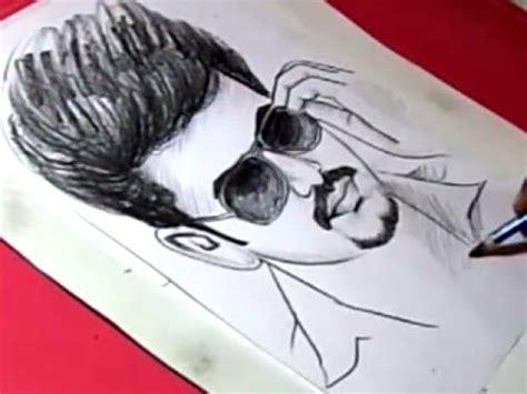 vijay sketch drawing  wallpaper hd collection
