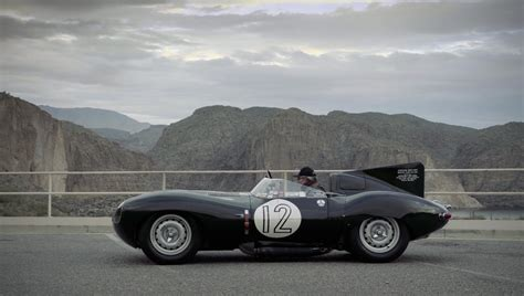This 1954 Jaguar D-type Set A Record At Le Mans And Is
