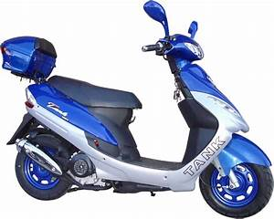 Extreme-Scooters - Buy Tank 50cc Gas Motor Scooter - Best ...