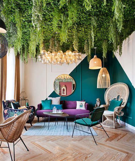 salon respira inspiracion por maisons du monde  casa decor