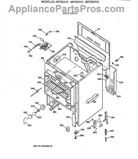 Wiring Diagram For Ge Oven Element by Hotpoint Oven Parts Diagram Periodic Diagrams Science