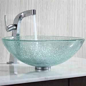 Vasque En Verre : la vasque en verre fonctionnelle et tr s d co ~ Melissatoandfro.com Idées de Décoration