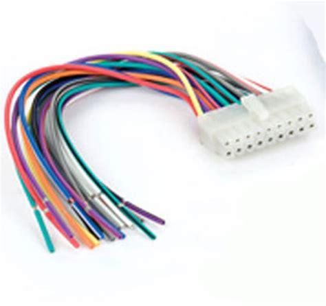 Universal Unit Wiring Harnes by Pac Rad Unv Universal Radio Replacement Wiring Harness