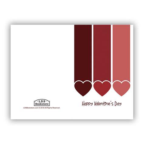 Printable Valentine Hearts Cards