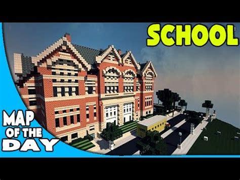 ironhurst elementary school minecraft pc map w