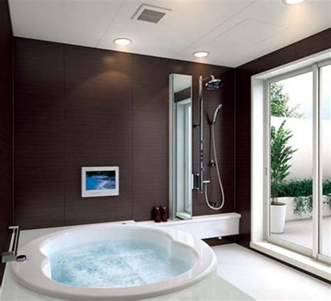modern bathroom designs modern bathroom design with glass roof beautiful homes Beautiful