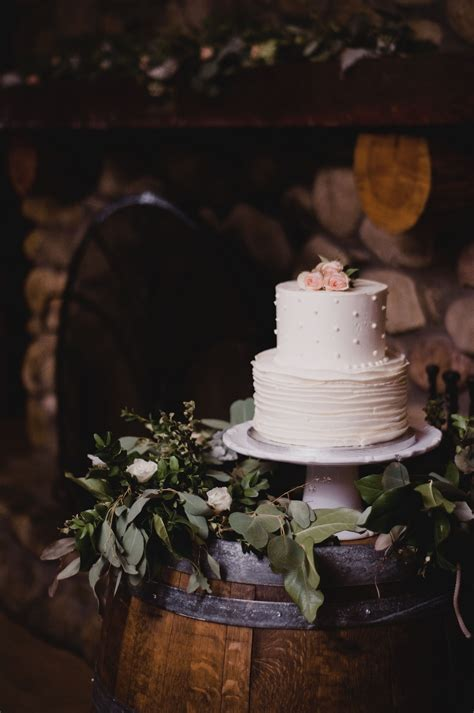 Wine Barrel Wedding Cake Table Wedding Wine