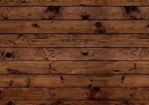 Rustic Hardwood Background And Darkwood Plank Faux Wood