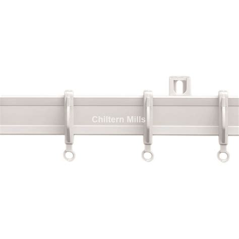 4 5m plastic curtain track set chiltern mills