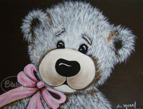 petit canapé pour enfant d 233 coration pour enfant tableau peinture ours ruban