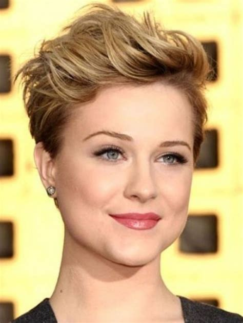 short pixie cuts  face simple  easy styling