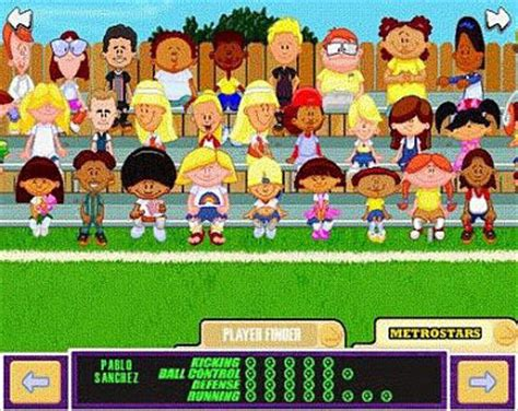 Backyard Football Characters - the julie project day 128 julie