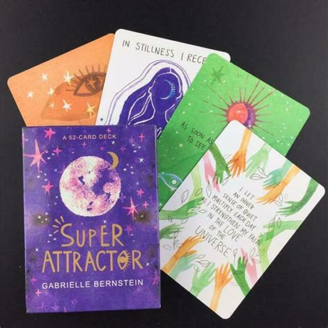 This stunning deck of cards helps you connect to the universe and live in alignment with spirit so that you can get in the flow of. super attractor Super attractor Oracle Cards | eBay