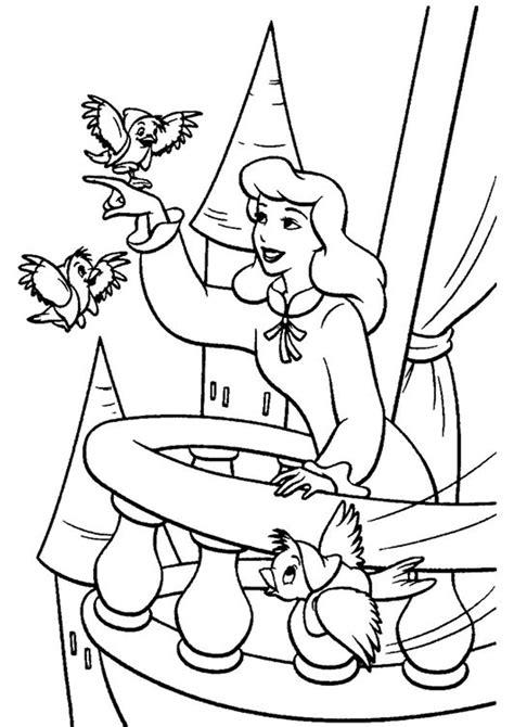 easy  print cinderella coloring pages tulamama